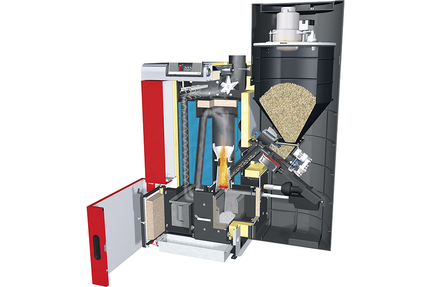 Biomasse-Heizkessel - Zagst Heizung Lüftung Sanitär